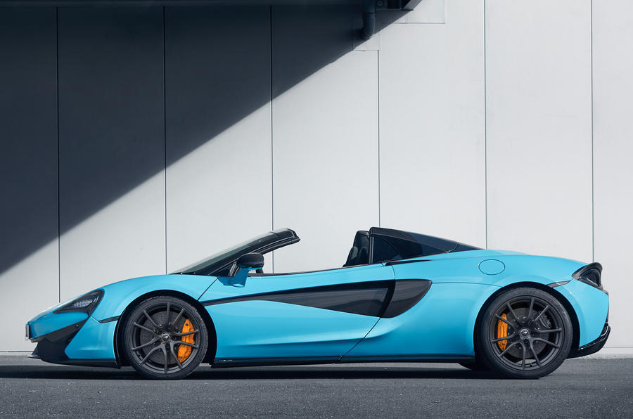 2017 McLaren 570S Track Pack now available with Spider