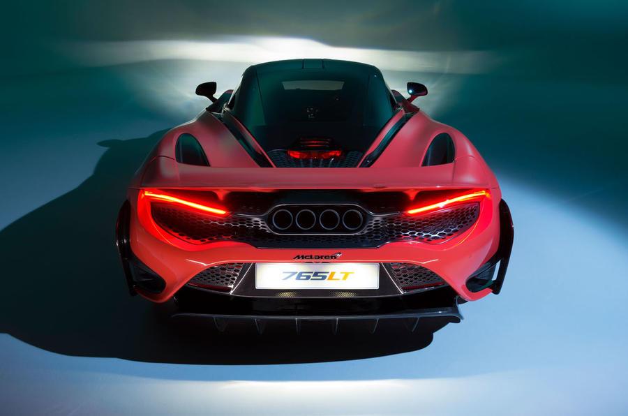 2020 McLaren 765LT - static rear