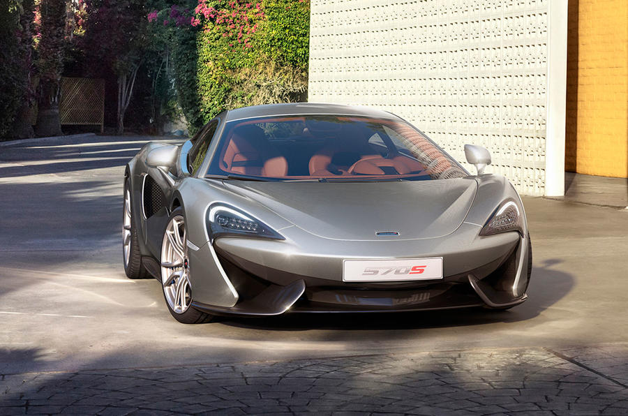 New McLaren 570S Coupe - pricing, specifications and pictures