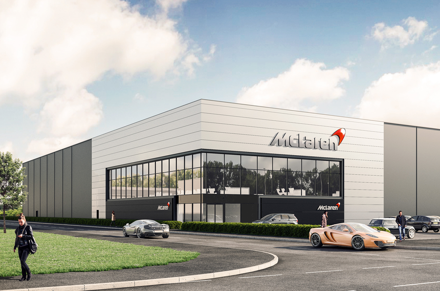 New City Nissan >> McLaren announces new £50m chassis facility in South Yorkshire   Autocar