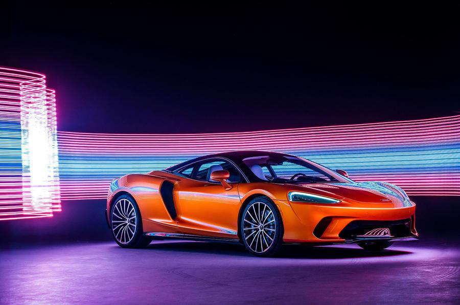 McLaren GT front in studio