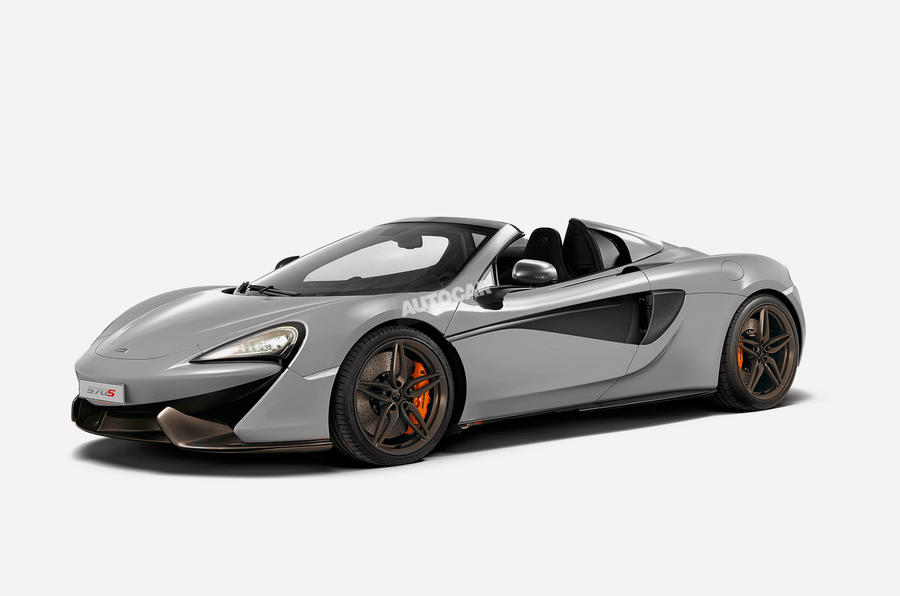 mclaren 570s spider confirmed for 2017 | autocar
