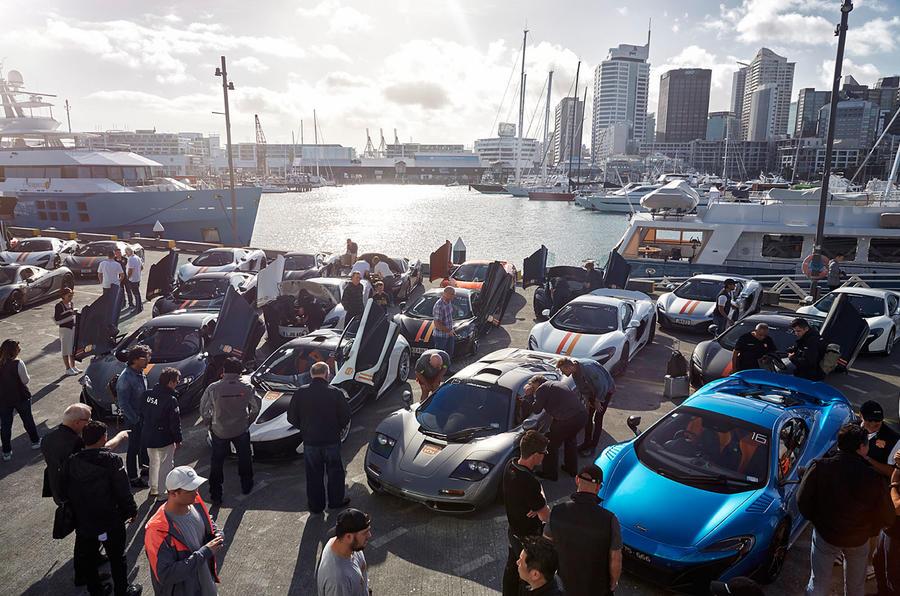 In Dubai presented a special version of the supercar McLaren 720S