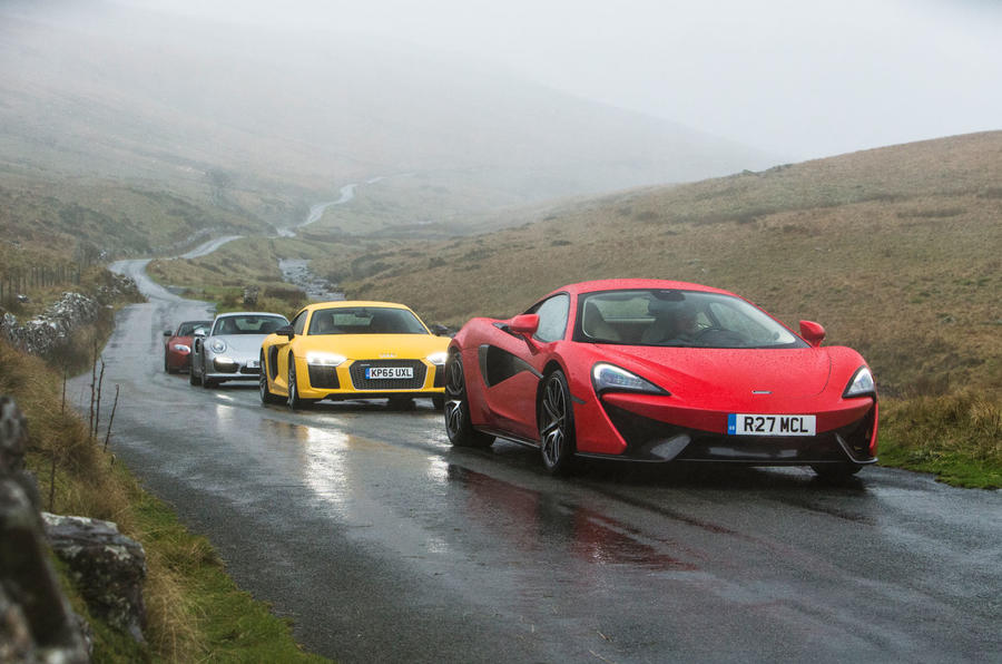 Audi R8 V10 Versus Rivals From Mclaren Porsche And Aston