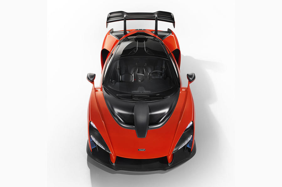 McLaren Senna unveiled with 588kW
