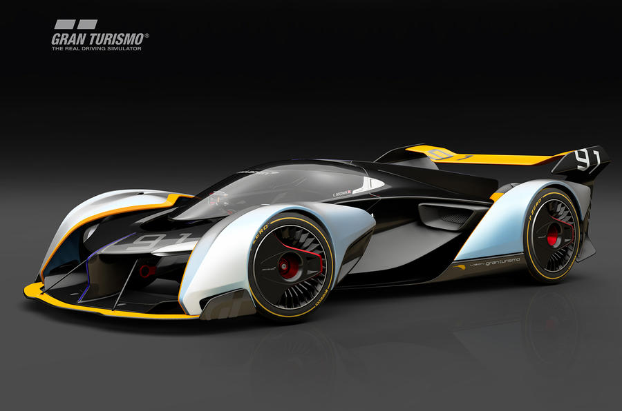 Gran Turismo Sport's Ultimate Vision McLaren Is Like a Bloody Tron Cycle