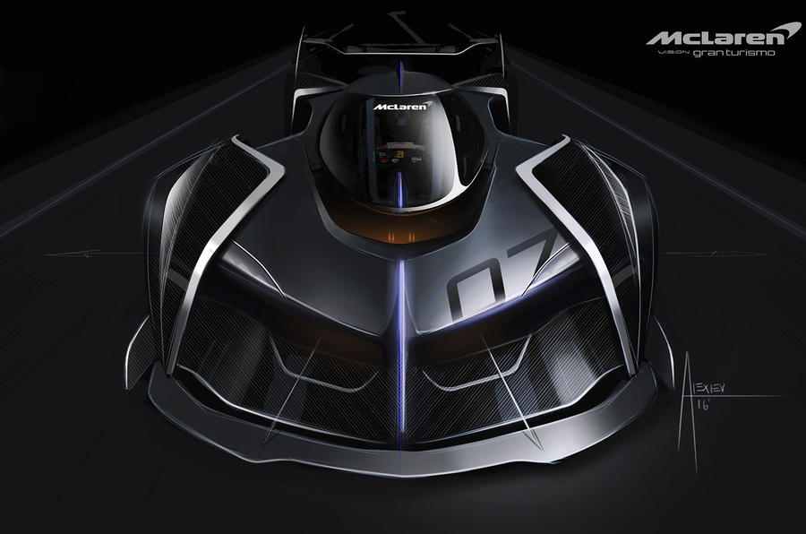 1134bhp Virtual McLaren concept to make video game debut