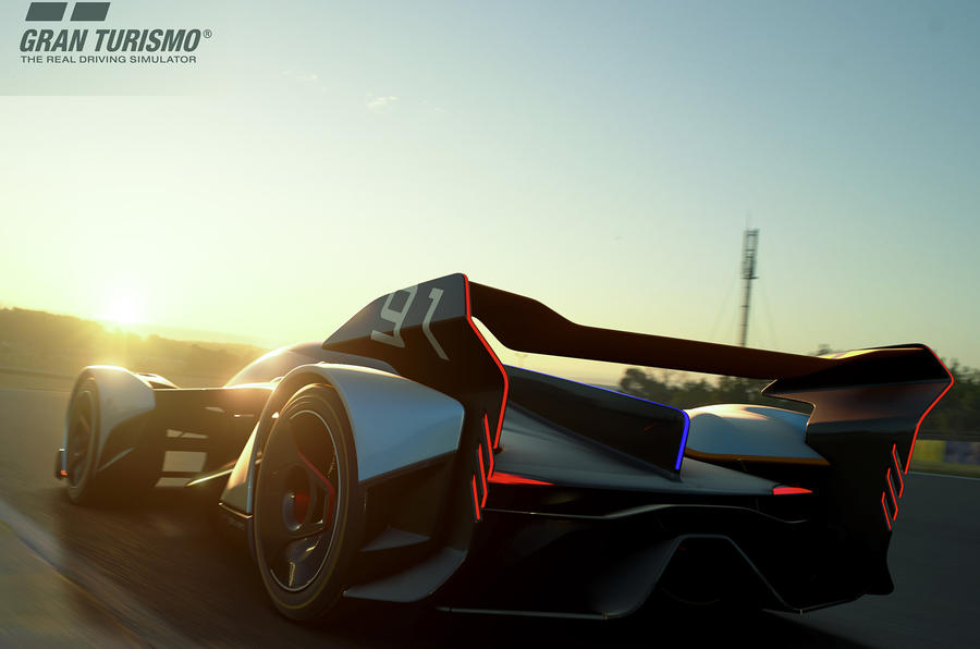 McLaren's New Ultimate Vision Gran Turismo Concept Has the Weirdest Seating Position