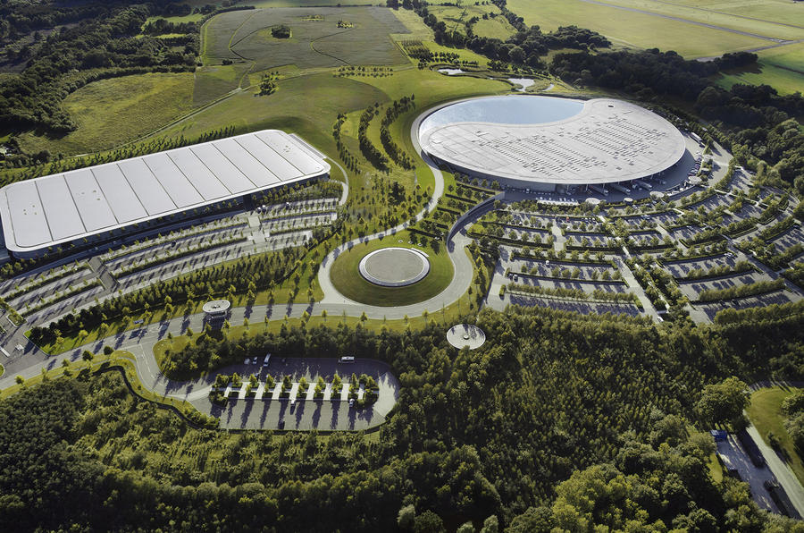 McLaren's HQ in Woking