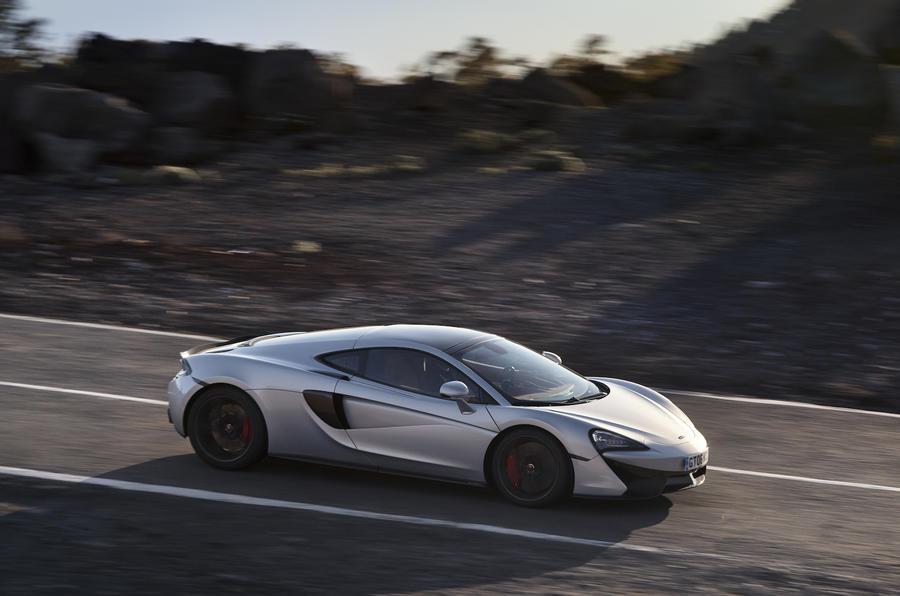 £154,000 McLaren 570GT