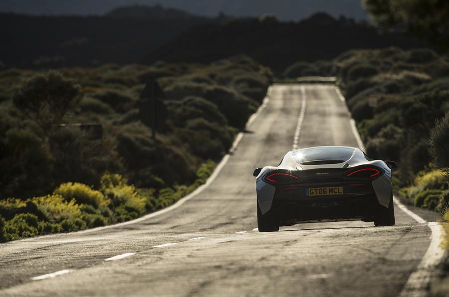 McLaren 570GT rear