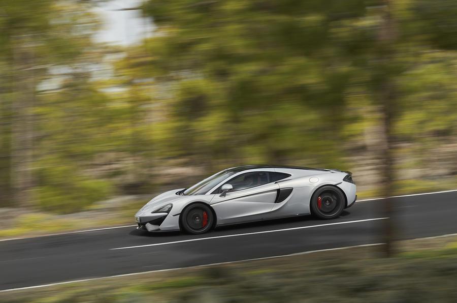 204mph McLaren 570GT