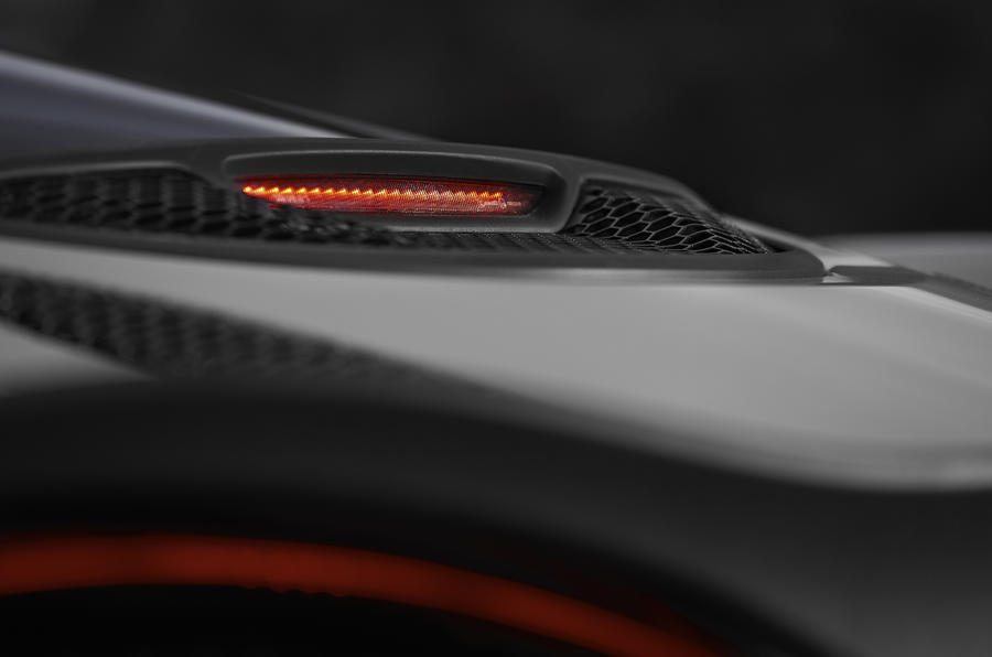 McLaren 570GT rear brake light