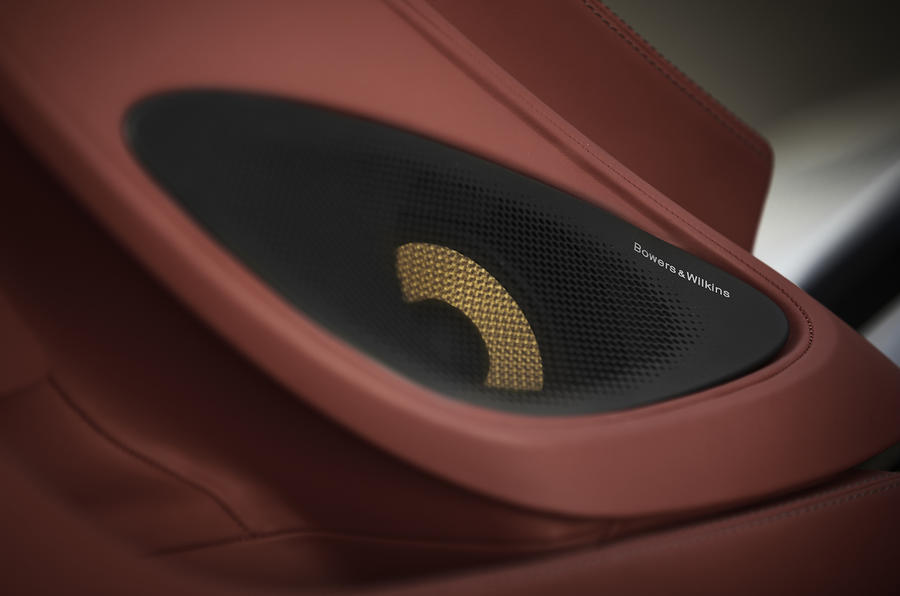McLaren 570GT Bowers & Wilkins speakers