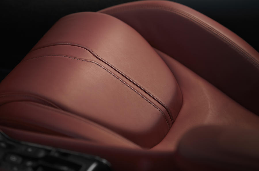 McLaren 570GT leather seats