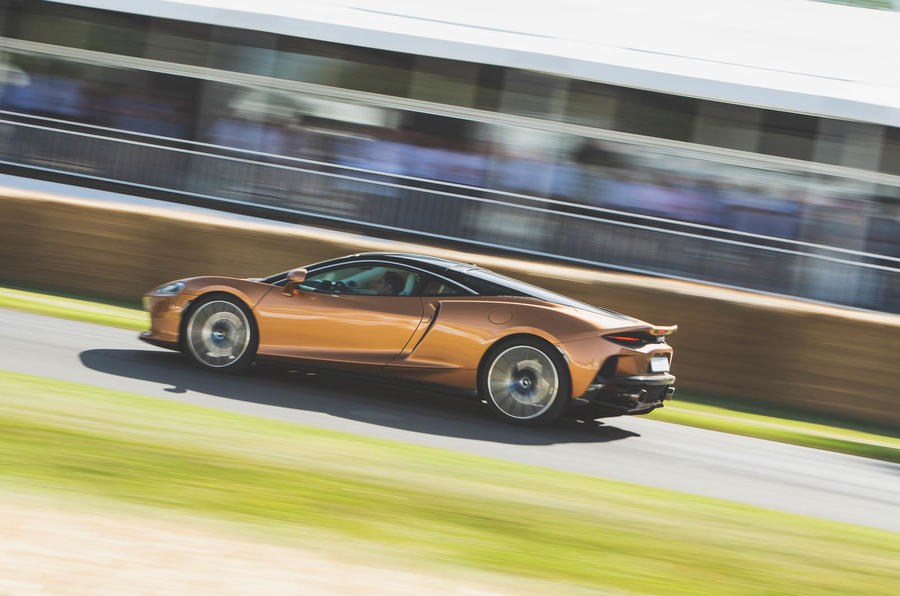 McLaren GT at Goodwood 2019