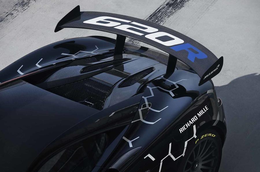 McLaren 620R wing