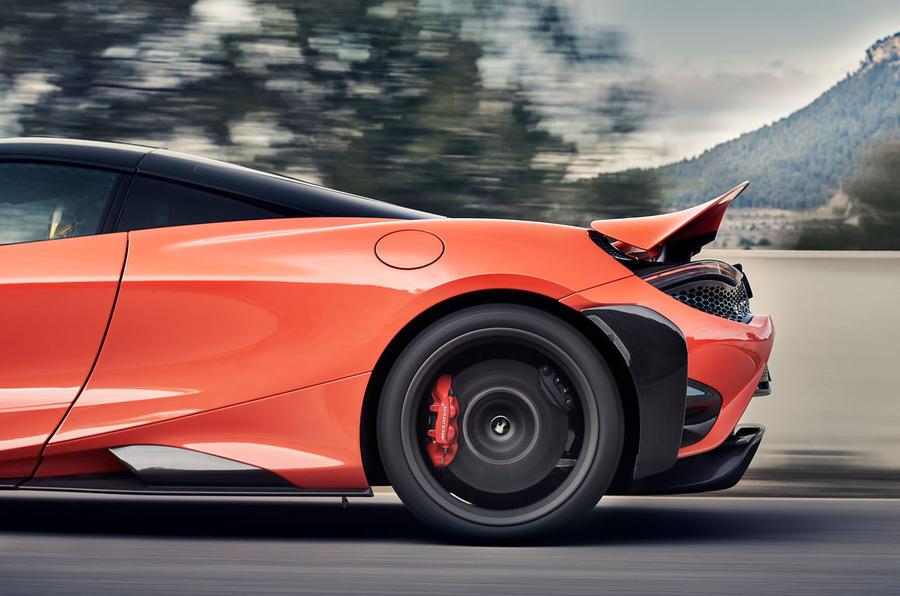 2020 McLaren 765LT - rear wheel