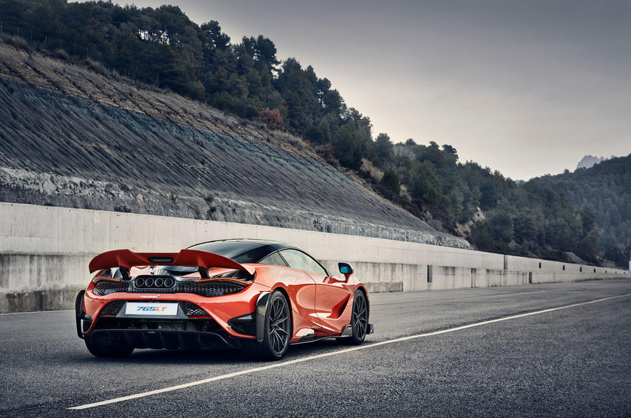 2020 McLaren 765LT - on track