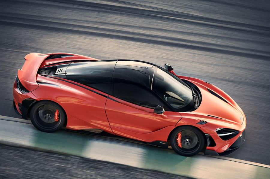 2020 McLaren 765LT - cornering side