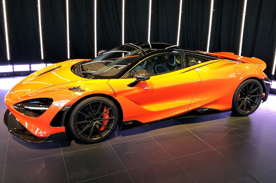 2020 McLaren 765LT - revealed at McLaren Technical Centre
