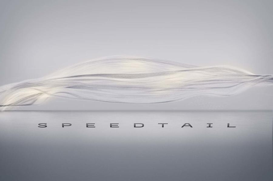 McLaren Speedtail: name confirmed for 243mph F1 successor