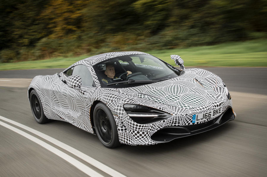 First shots emerge of McLaren BP23 development mule
