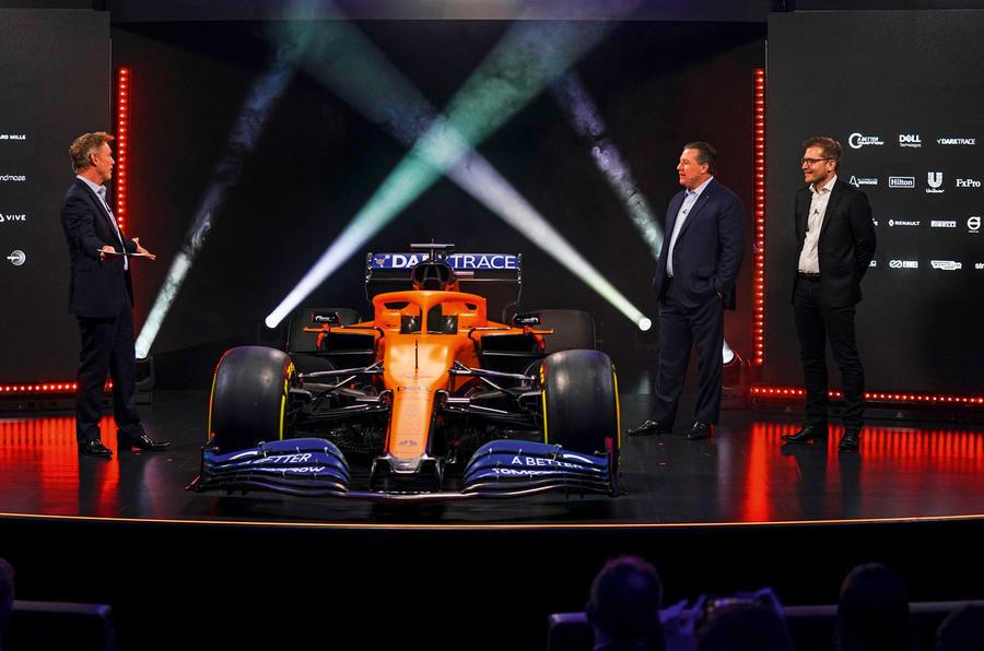 McLaren F1 car unveiling