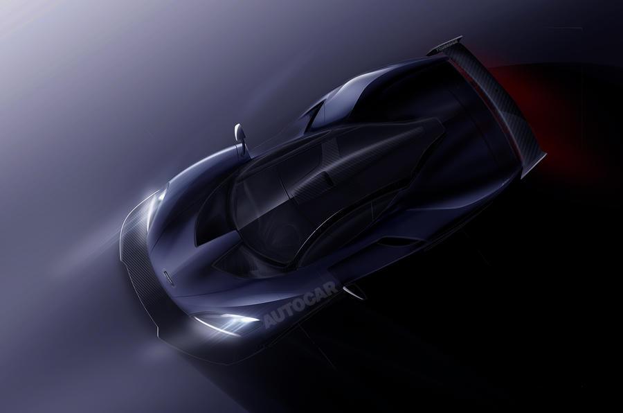 2017 McLaren P15 new P1
