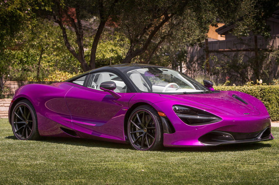 McLaren Built an Extremely Purple 720S