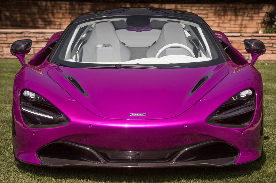 One-off McLaren 720S by MSO revealed at Pebble Beach