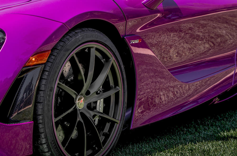 Pink McLaren 720S by MSO revealed at Pebble Beach