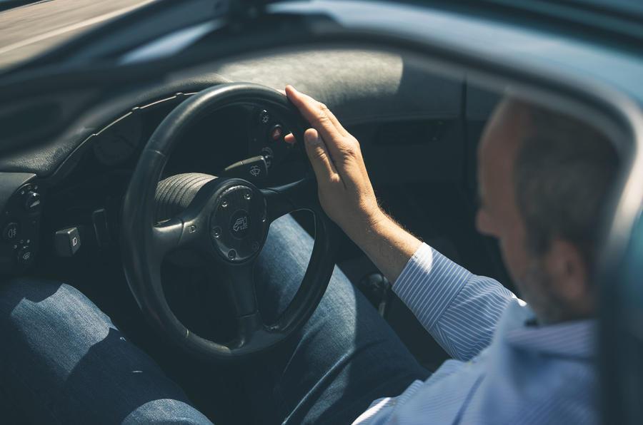 McLaren generations - steering wheel