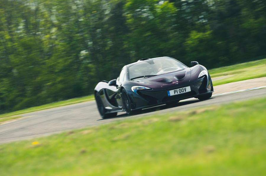 McLaren generations - P1 action