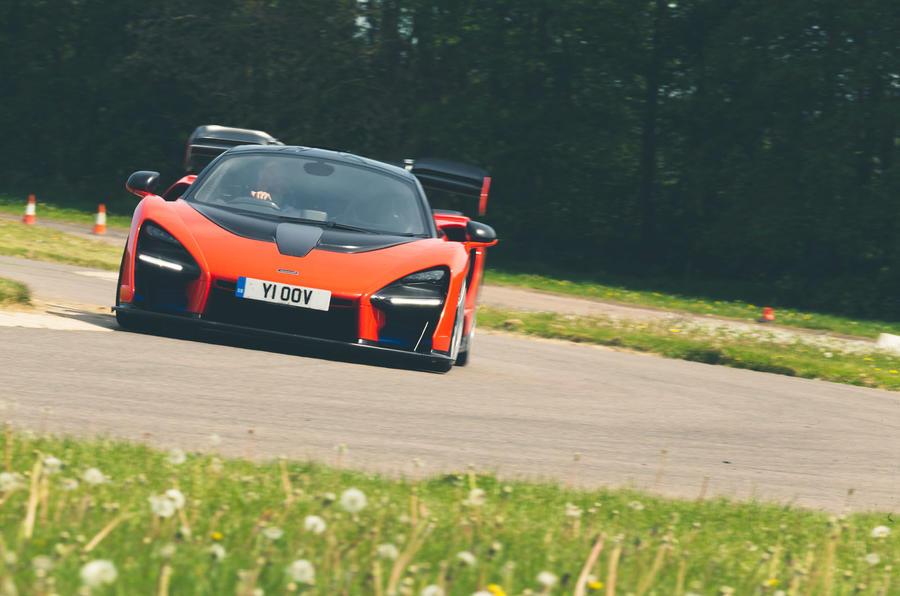 McLaren generations - Senna on track
