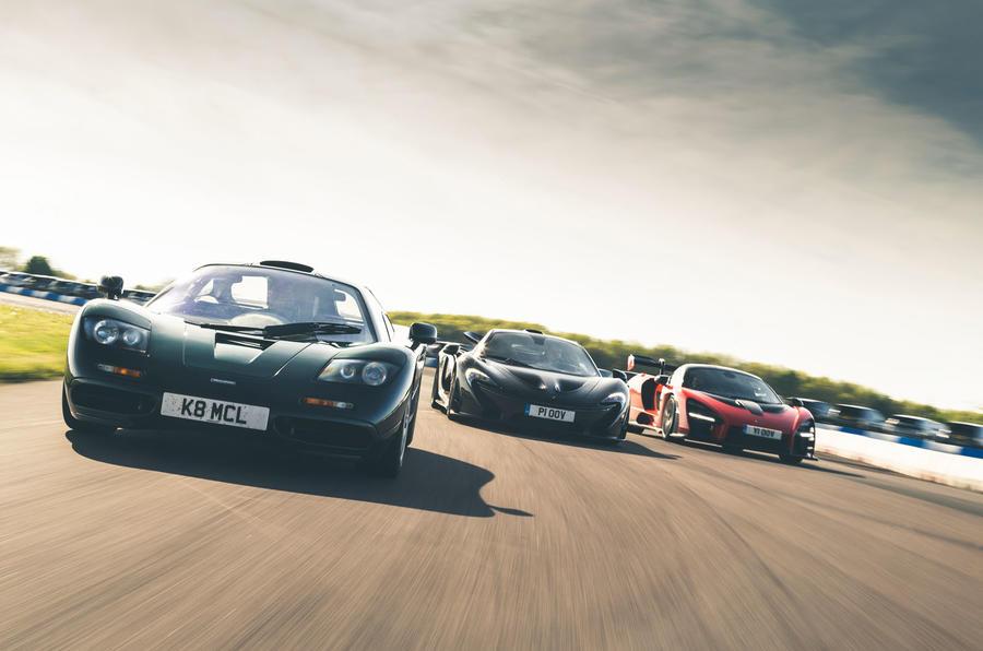 McLaren generations - lead front