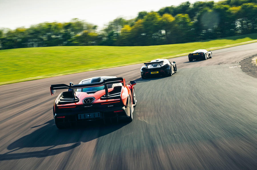 McLaren generations - lead rear