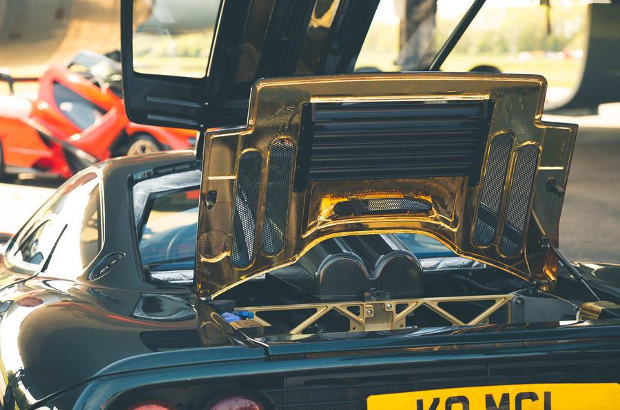 McLaren generations - F1 engine bay