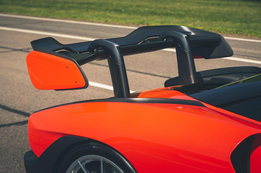 McLaren generations - Senna wing