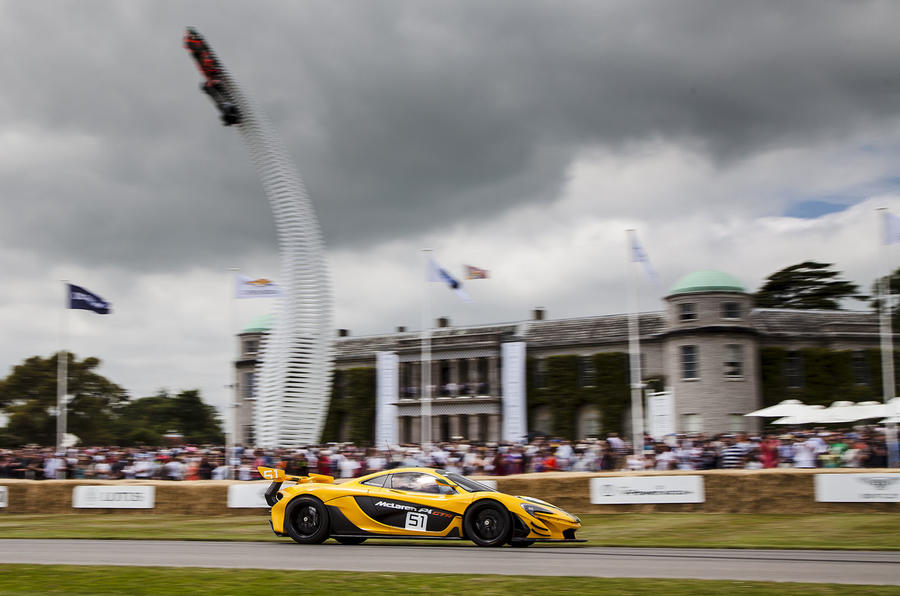 McLaren P1 GTR Goodwood