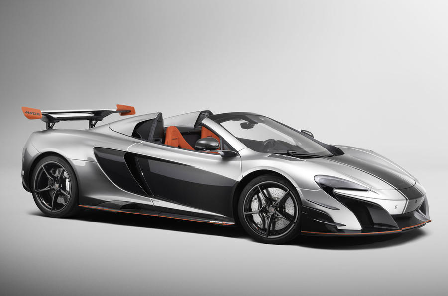 679bhp McLaren MSO R coupe and Spider revealed