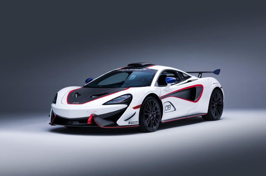 McLaren 570S MSO X models revealed with GT4 race influence