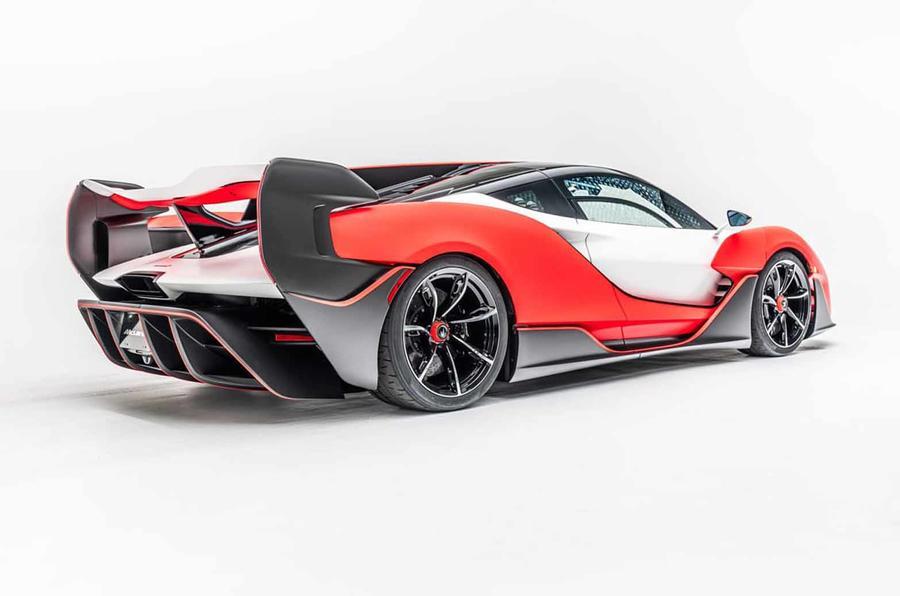 McLaren Sabre rear side