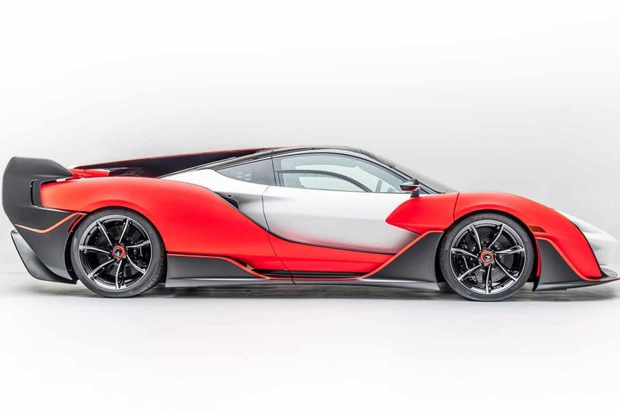 McLaren Sabre side