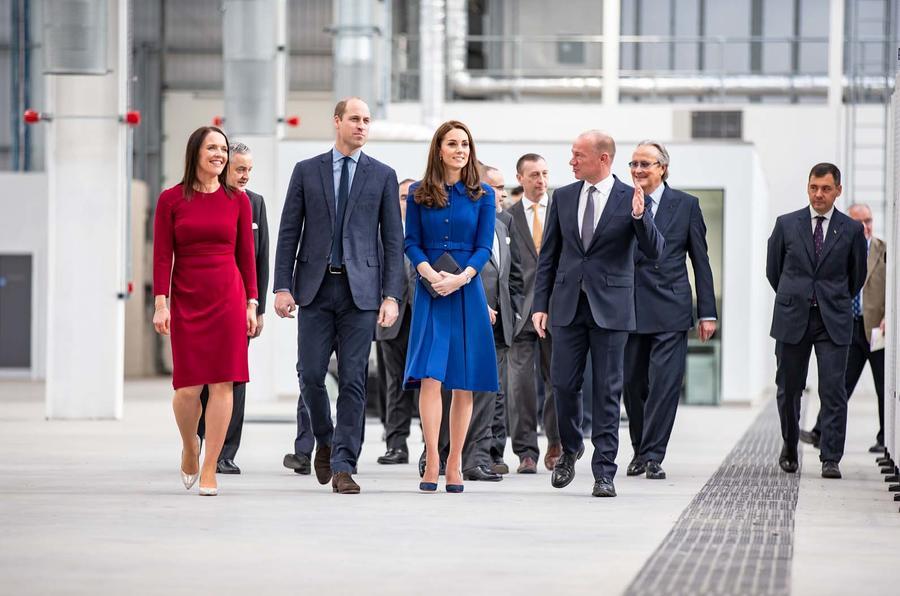 Duke and Duchess of Edinburgh open McLaren's Sheffield facility