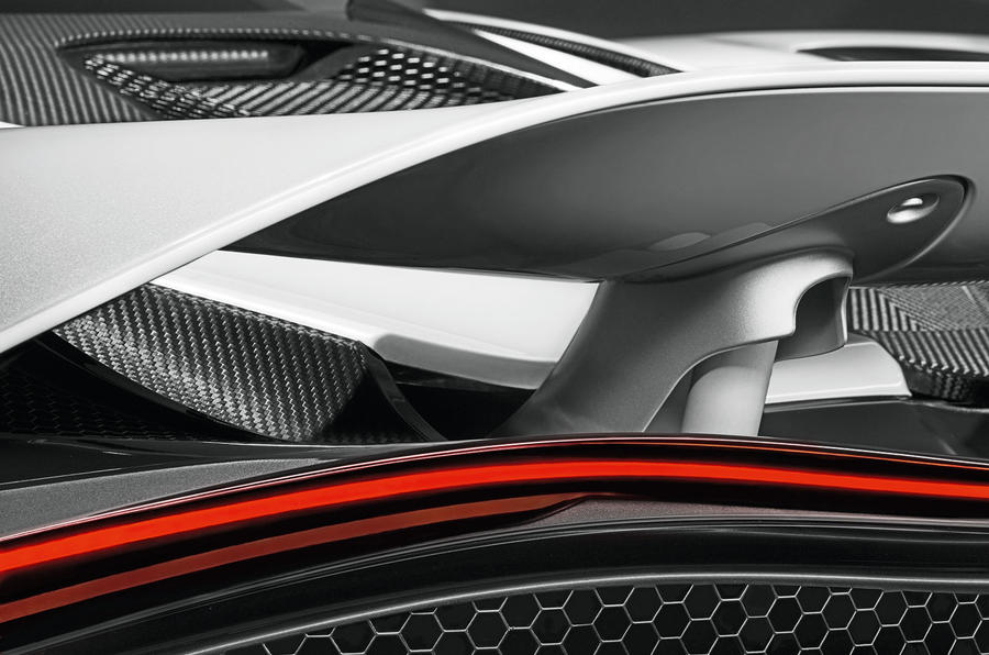 Active rear wing aids the P14's aero efficiency