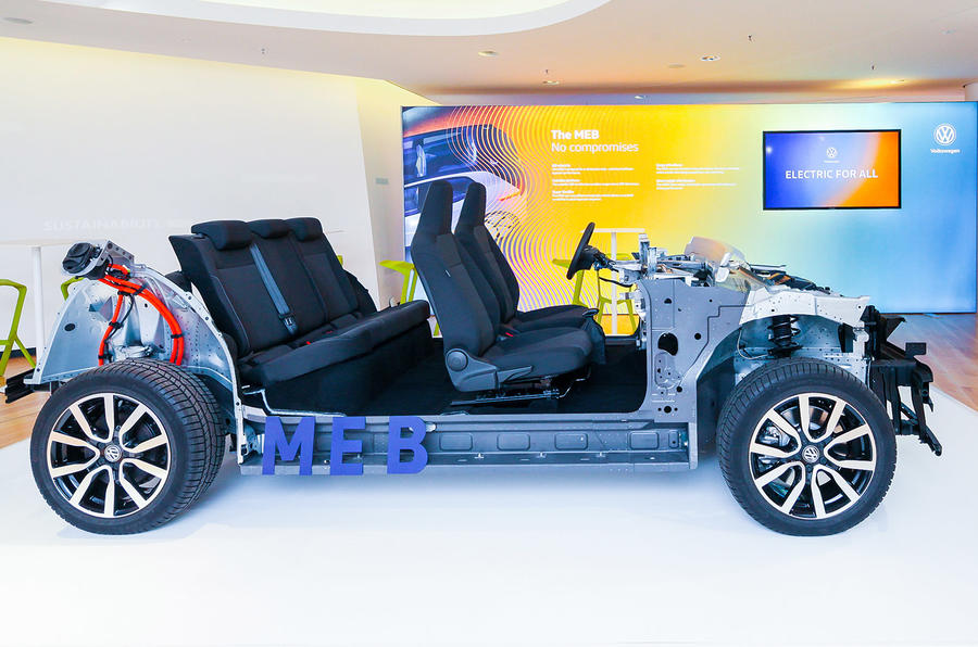 New Beetle 2018 >> VW's MEB electric car platform: full details revealed ...