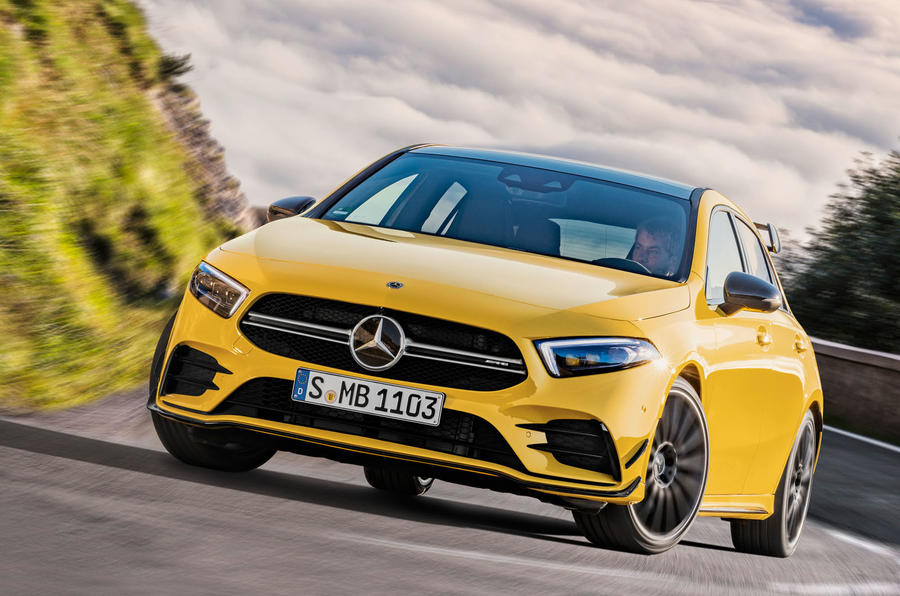 Mercedes-AMG A 35 Revealed with 306hp