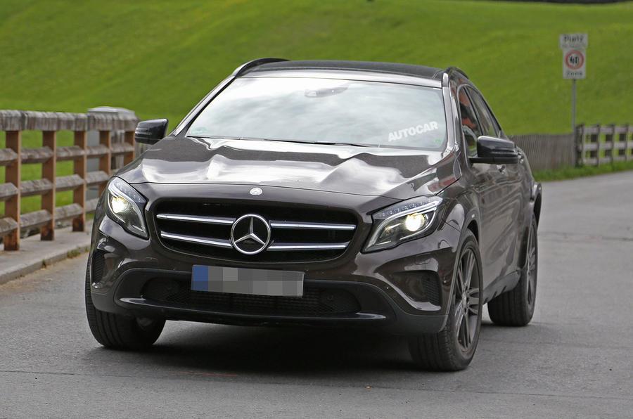 2018 Mercedes-Benz GLB crossover - first spy shots   Autocar