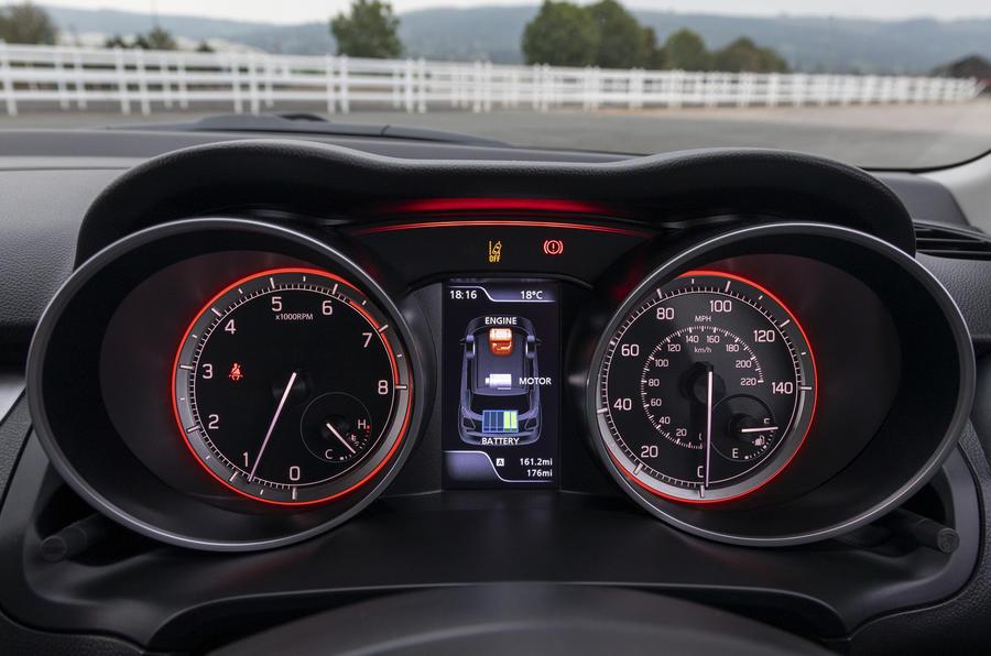 Suzuki Swift Hybrid SZ5 2020 - cadrans